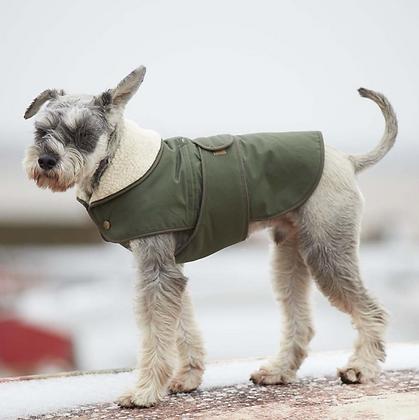 Classic Winter Dog Coat | Deep Green