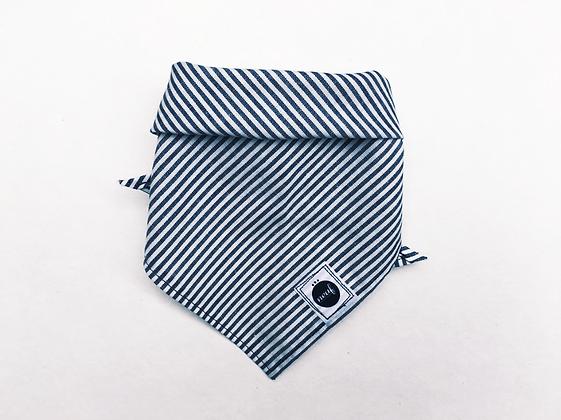 Triangle bandanna#NY stripe