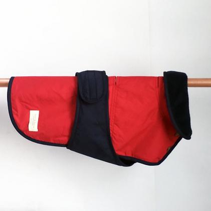 Rain Jacket - Red/Navy