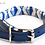 Thumbnail: Geo Blue Dog Collar
