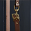Thumbnail: Brown Leather Adjustable Long Dog Lead