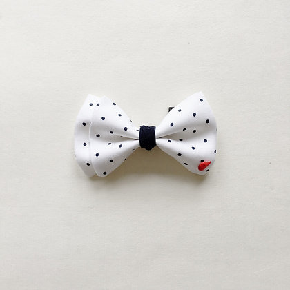 THE BOW TIE #French dots