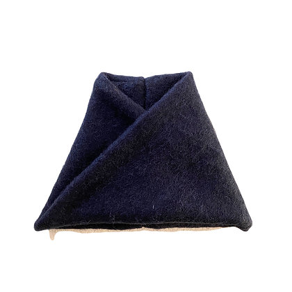Twisted snood #THE NAVY