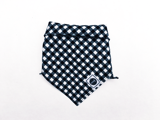 Triangle bandanna#Brooklyn gingham