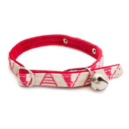 Geo Pink Cat Collar