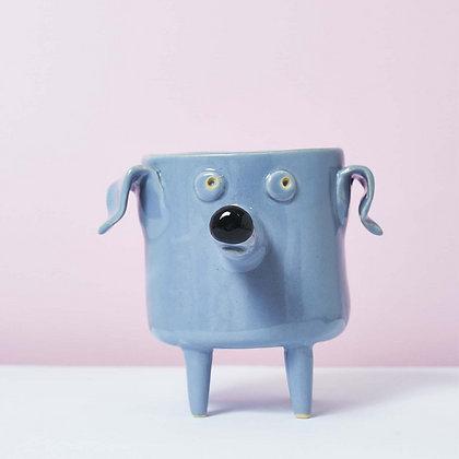 Ceramic Dog Planter.#02