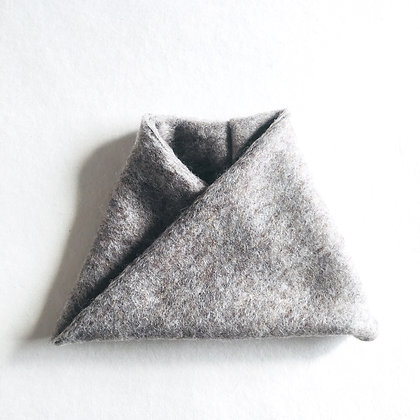 Twisted snood #classic grey