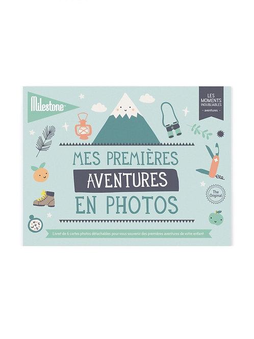 Livret de cartes : Mes premières aventures en photos