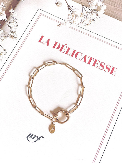 Bracelet chaine à gros maillons - MARLON