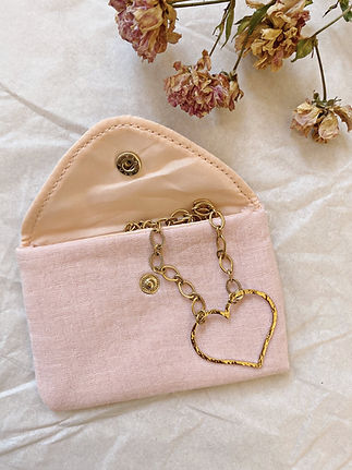 Pochette-gaze-coton-rose-pale-porte-cart