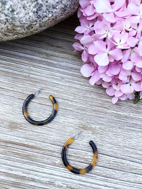 Boucles d'oreilles créoles - CLAIRE