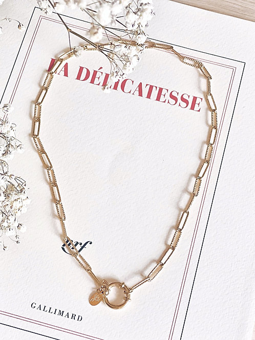 Collier chaine à maillons - LORENZO