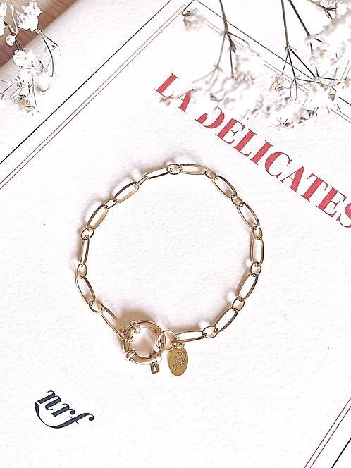 Bracelet chaine à maillons - LUKE
