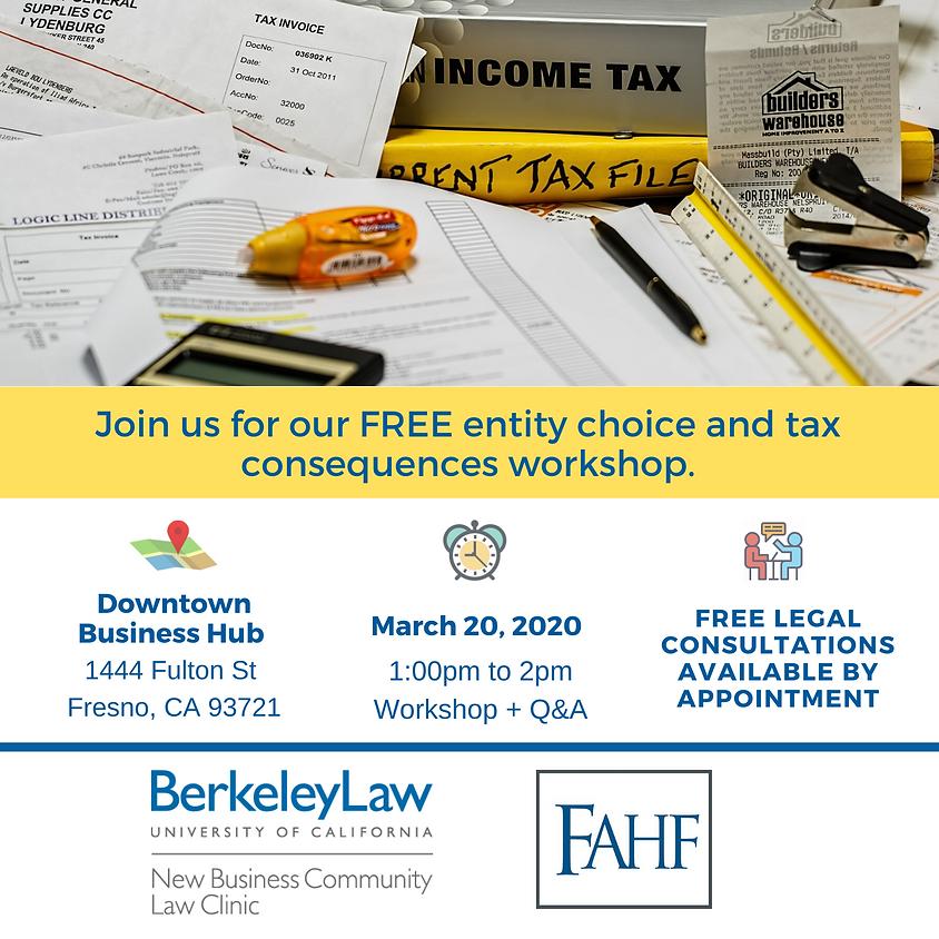 Legal Workshop at no cost!