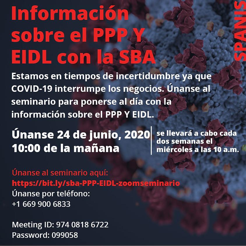 Nueva información sobre el PPP y EIDL