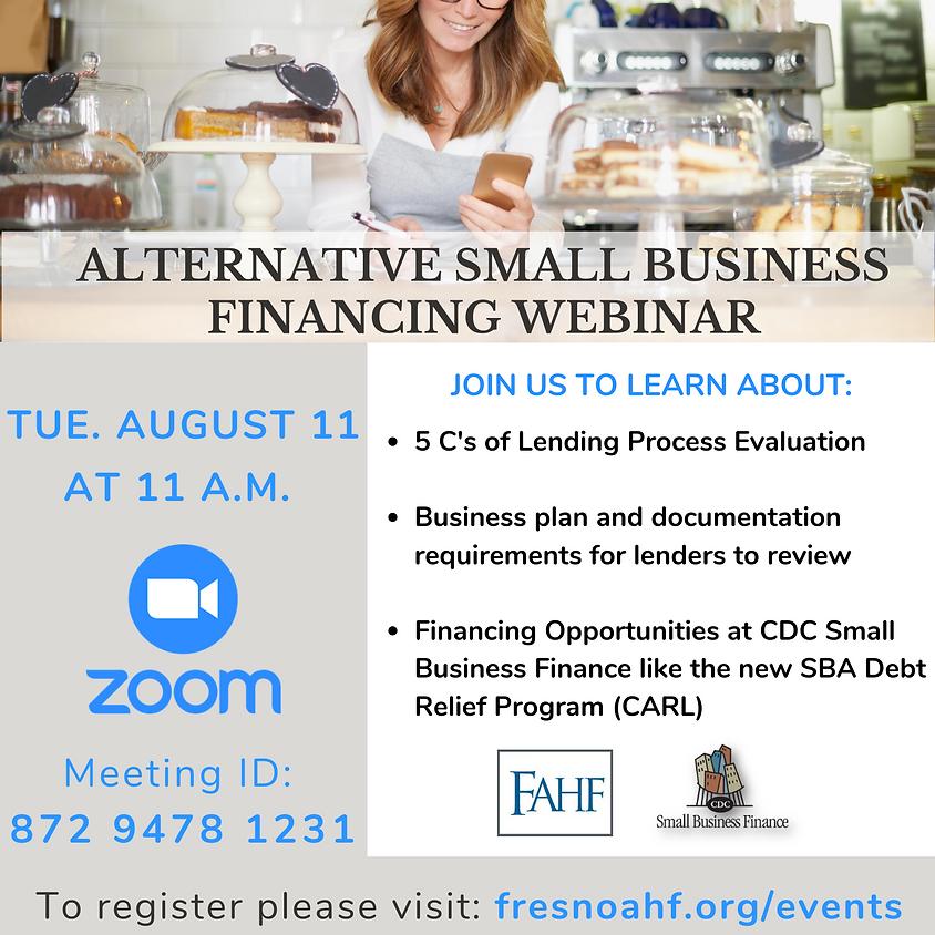 Alternative Small Business Financing
