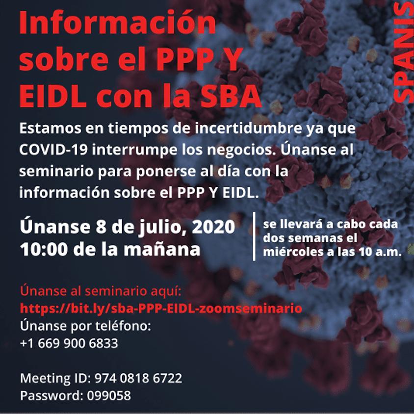 Información sobre el PPP y EIDL