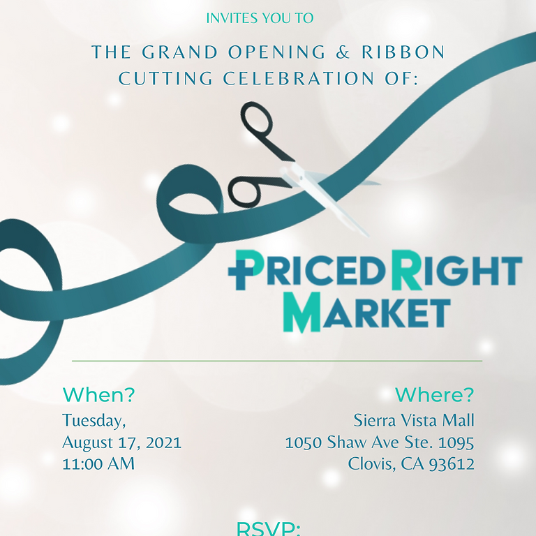 Priced Right Market Ribbon Cutting
