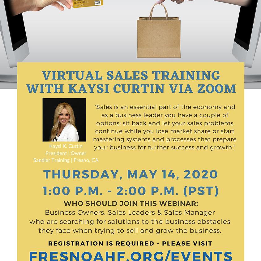 Virtual Sales Training