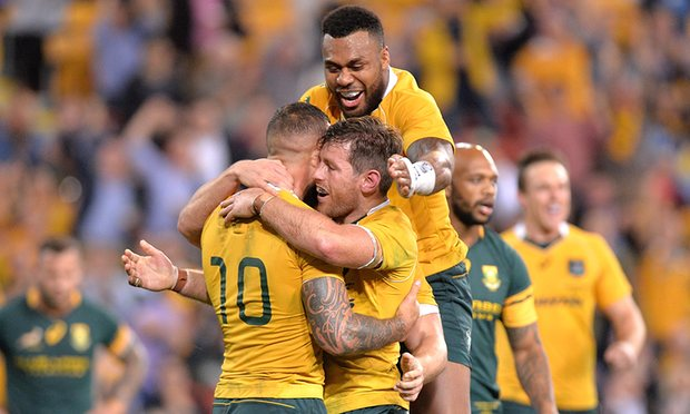Wallabies Beat Boks
