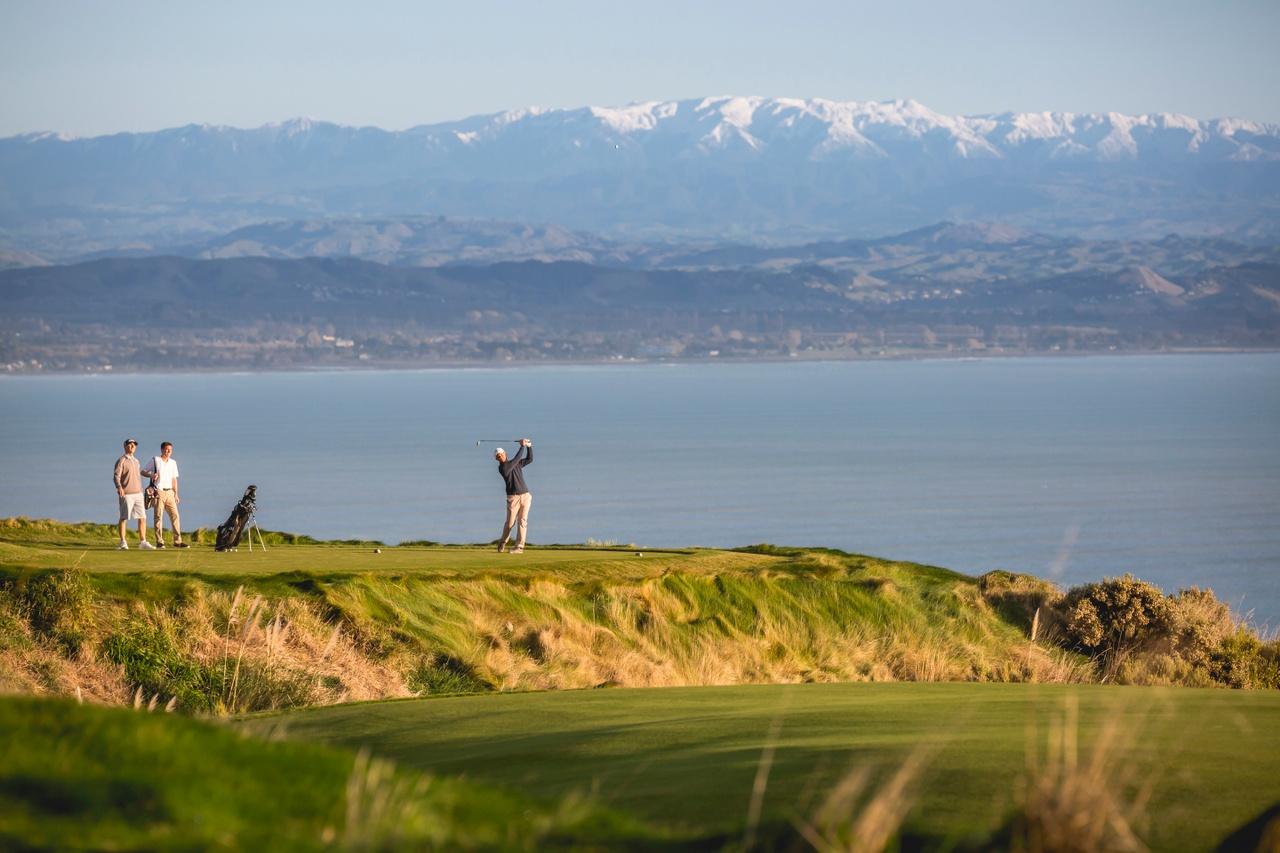 So yes - Cape Kidnappers...