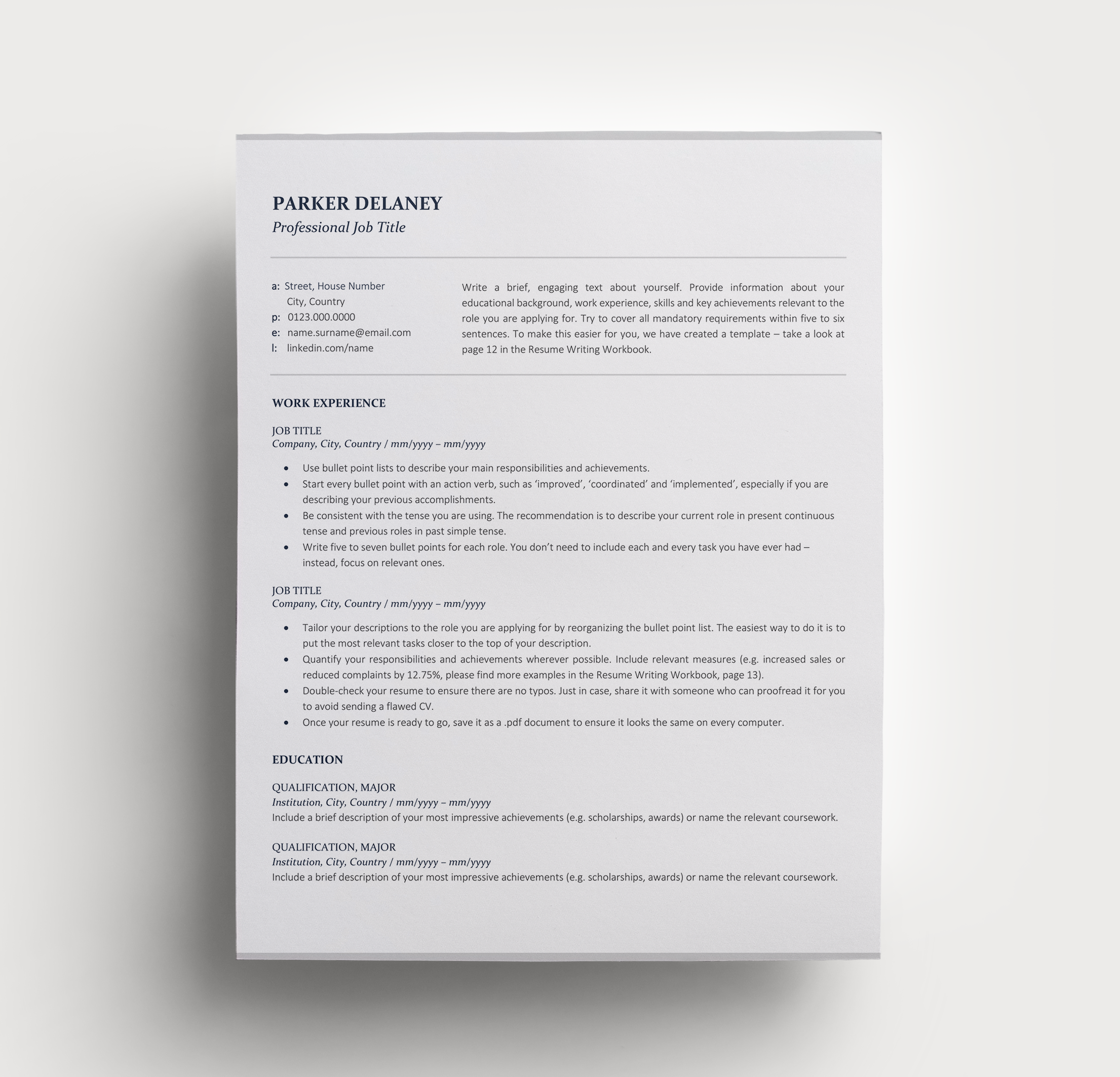 How To Write Resume For 2020 Ultimate Resume Writing Guide
