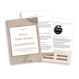 Perfect-Resume-Checklist-Job-Search-Tool