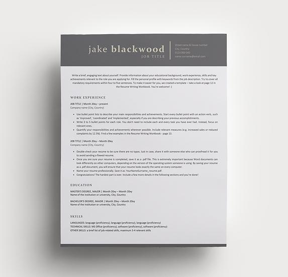 Resume Jake