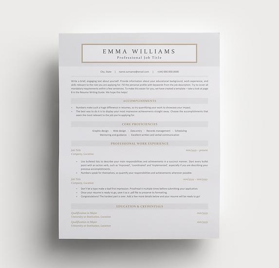 Resume Emma
