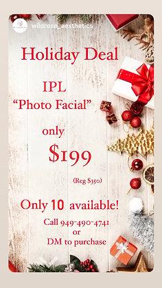 """IPL """"Photo Facial"""""""