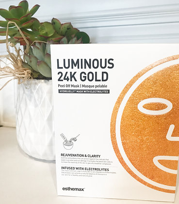Luminous 24k Gold Hydrojelly Treatment Mask