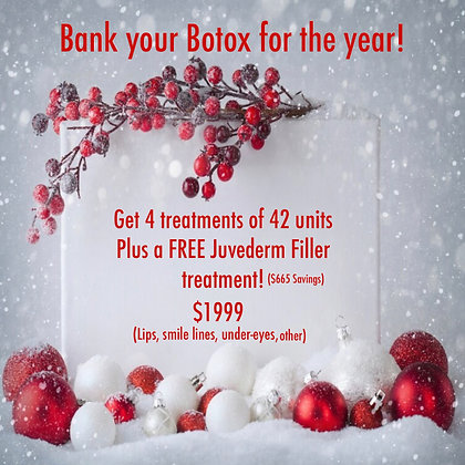 Botox For A Year Plus FREE Filler!