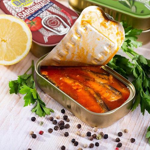 Sardinas en Aceite o Tomate