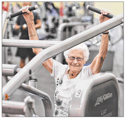 Article: She's as fit as a fiddle, inspiring others at 99. (2013)