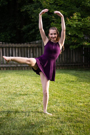 Megan's Senior Dance Photos