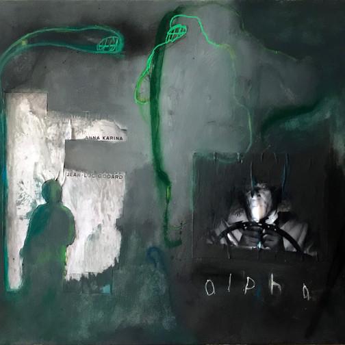 Alpha, 2018 50cm x 61cm