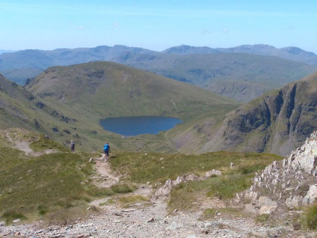62 Grizedale Tarn from St Sunday Crag.jp