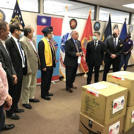 Mask Donations to Georgia Veterans
