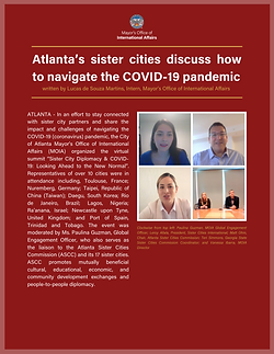 Sister Cities Webinar Article Cover Page
