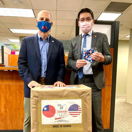 Mask Donations to ATL's Airport