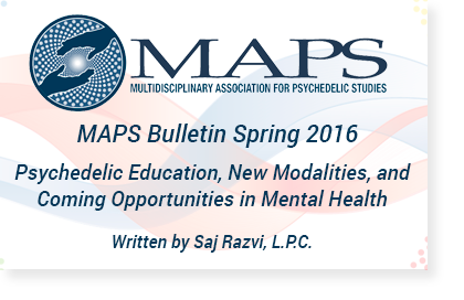 Psychedelic Education, New Modalities, and Coming Opportunities in Mental Health