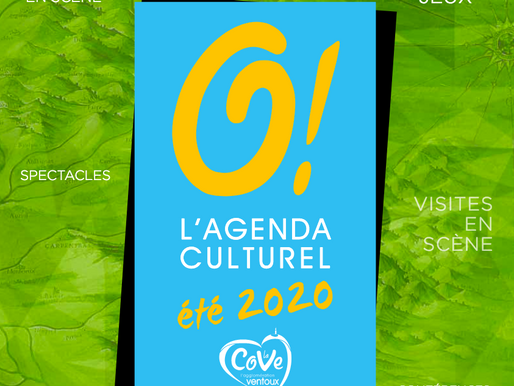 L'agenda Culturel 2020 de la COVE