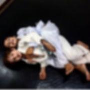 Posicao tecnica de Jiu Jitsu para crianças