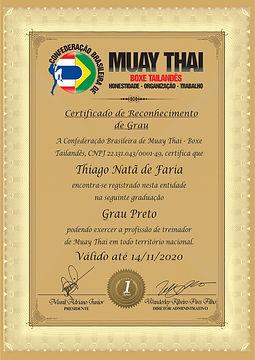 Modelo Certificado RECONHECIMENTO DE GRA