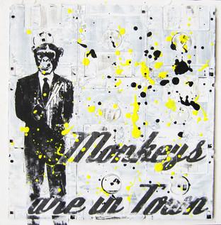 Monkey Town 30x30