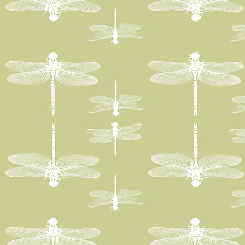 Simply dragonflies - wallpaper, green