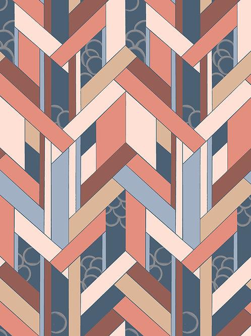 Fitz wallpaper- brick samples