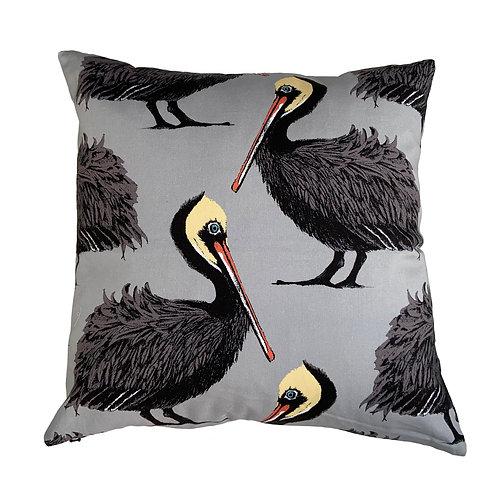 Pelicans - Cushion Grey