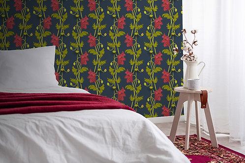Poppy wallpaper-Cherry