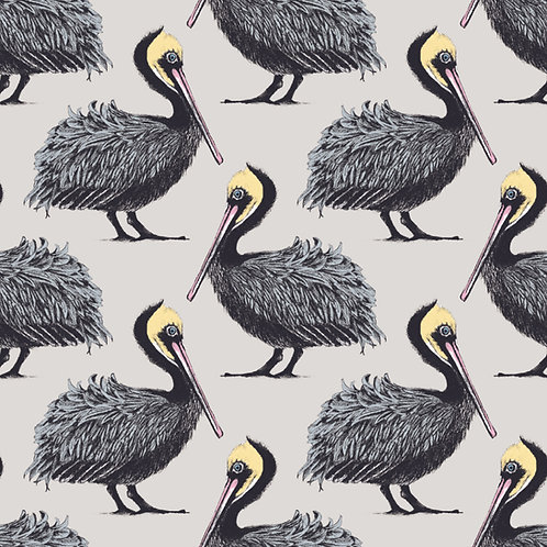 Pelican Fabric - Oyster
